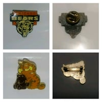 Collector 1986 Chicago Bears Football vintage pin