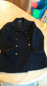 Ladies Pea Coat, Size12P Deer Park