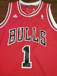 Chicago Bulls Adidas Away Jersey #1 Derrick Rose Calgary