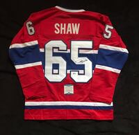 Andrew Shaw Signed Montreal Canadiens jersey Châteauguay, J6K 2A7