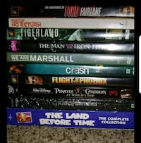 assorted DVD movie case lot Pleasant Grove, 84062