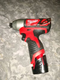 """Milwaulkee M12 Hex impact driver 1/4"""" with battery BRAND NEW Pasadena, 21122"""