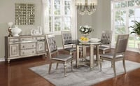 Dining Table & 4 Side Chairs Philadelphia