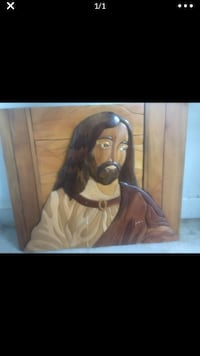 Picture of Christ - solid hand carved wood Alexandria, 22306