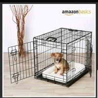 "36"" double door pet crate B.N.I.B 541 km"