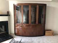 China Cabinet - Decor brown wooden cabinet  Washington, 20015