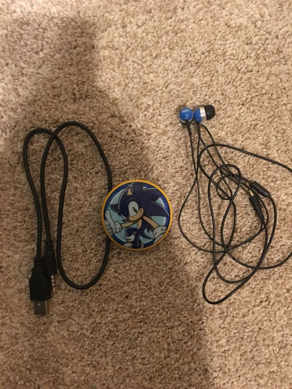 Sonic the hedgehog MP3 player