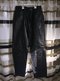 "Danier leather pants ""jean style"" excellent condition"