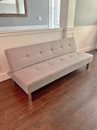 BRAND NEW Light Grey, Fabric Designer FUTON - SOFA BED (several available!) Vancouver