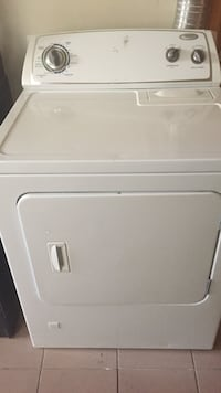 White, gas, front-load clothes dryer must sell ASAP we are moving!!!! Lyndhurst, 07071
