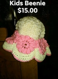 pink and white crochet basket Yuma, 85364