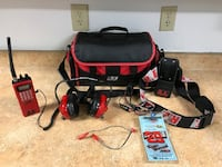 R.E. Racing Scanner and Headphones w/ Bag Newport News, 23602