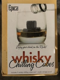 Whisky chilling cubes 564 mi