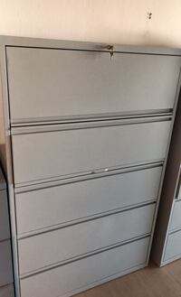 Lorell 5-Drawer Lateral File Cabinet