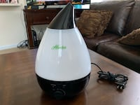 HUNTER COOL MIST COLOR CHANGING HUMIDIFIER Ashburn, 20148