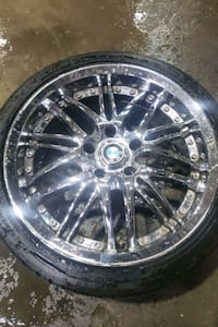 """Set of all seasons tire with rims 18"""""""