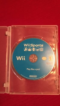 Wii sports game with box  Apex, 27502
