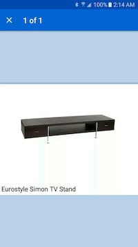 European Style Television Stand