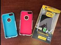 cyan, red, and black Otterbox Commuter iPhone cases Parrish, 34219