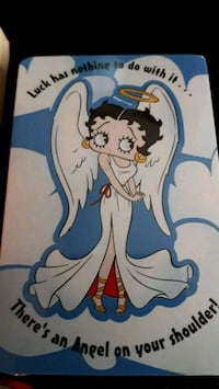 Betty Boop playing cards London, N5Y 4L1