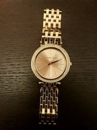 Rose gold Michael Kors watch (women's) Edmonton, T6W 1A8
