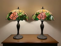 Tiffany style table lamps Sterling, 20166