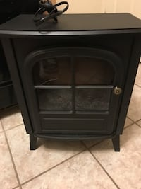 black wooden framed glass cabinet Fort Wayne, 46802