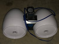 Daul 8 inch wakeboard tower speakers  Clarksburg, 20871