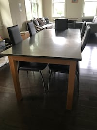 Dining table, chairs, and buffet - West Elm Silver Spring, 20910
