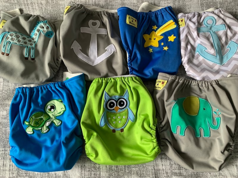 Starter pack of cloth diapers 1