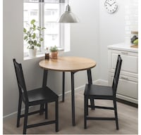 Ikea dining table and chairs  Montréal, H3S 1Z8