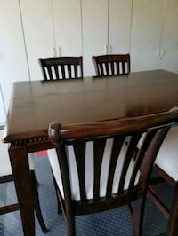 6 Seat High Dining Table Brea