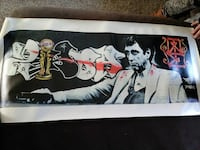 Scarface Canvas Painting