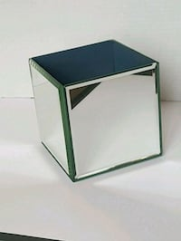 mirror vase 5x5. Many available.  Vaughan, L4L 7B1