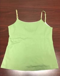 New with tags - women's large green spaghetti strap prana top - obo San Diego, 92131