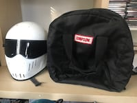 NHRA Simpson Drag Racing Helmet 49 km