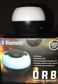 ORB LED Color Changing Bluetooth Speaker Springfield, 22152
