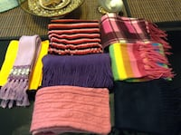 In Redwood City: 8  New  Girls Scarves. $5 for all Redwood City, 94062