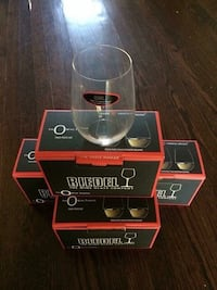 Stemless Wine Glasses Riedel Toronto, M1S