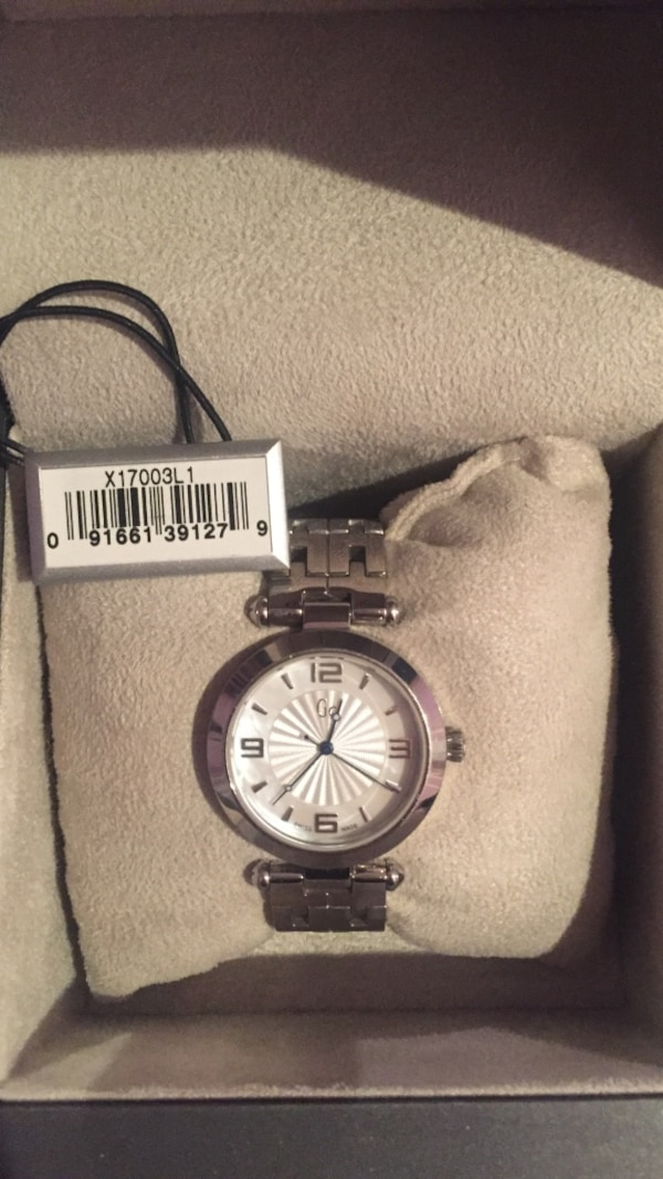 Silver guess collection watch