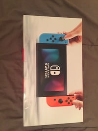 blue and white Nintendo Switch box Laval, H7X 3N3