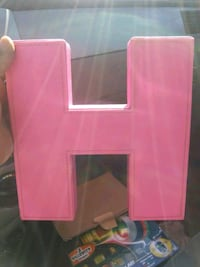 Leather letter H Panama City, 32404