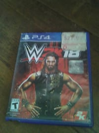 WWE 2K16 PS4 game case Los Angeles, 90044