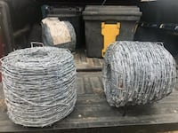 New rolls of Bobwire  Oklahoma City, 73129