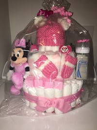 Diaper cake $50 willing to trade !!:)