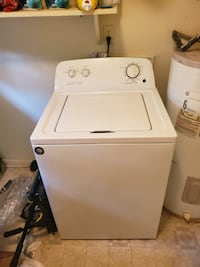 Washer and kitchen table