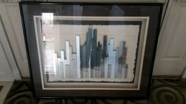 Chicago Skyline Glass