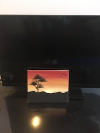 Hand painted African sunset. Toronto
