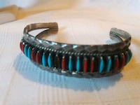 Native American sterling silver turquoise Coral  Somerville, 02145