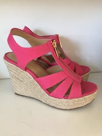 par rosa open-toe wedge sandaler 6549 km